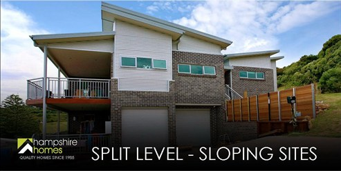 Split Level - Sloping Sites
